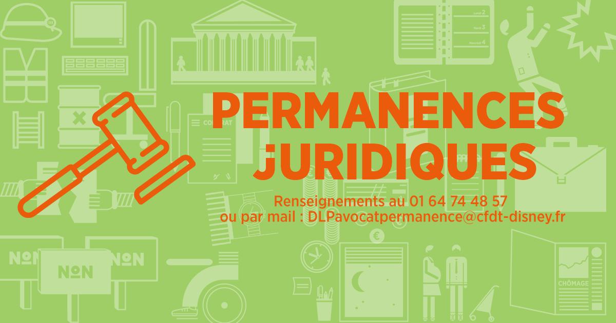 Permanence juridique – section CFDT Eurodisney